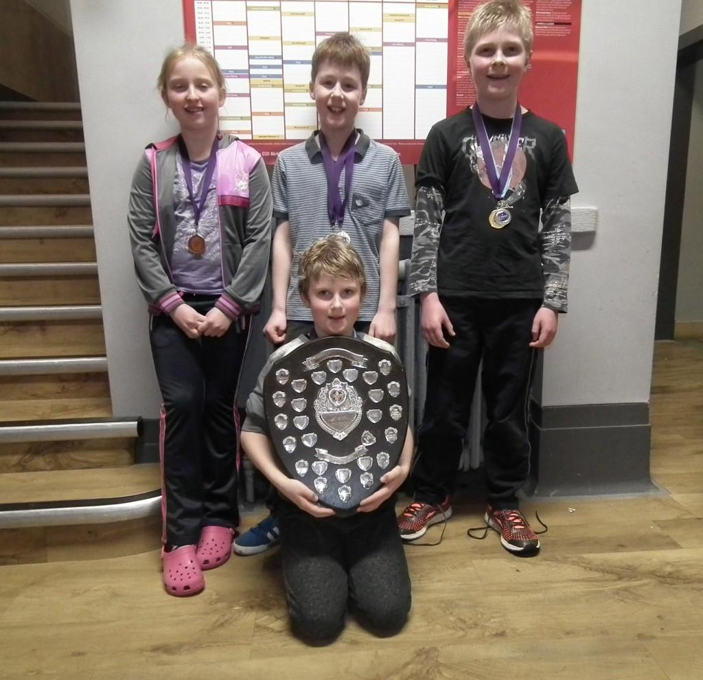 Swimming Gala Winners 2014