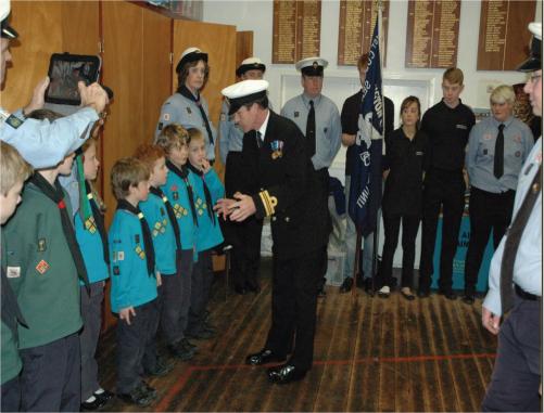 1st Cuddington RN Inspection